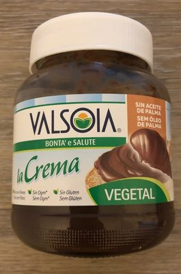 Valsoia crema vegetal cacao - Producto
