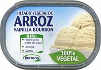 Helado vegetal de arroz vainilla bourbon - Producto - es
