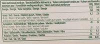 8 Sandwich Gelato Italiano Bio Vegan - Informació nutricional