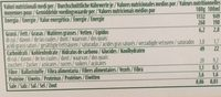 8 Sandwich Gelato Italiano Bio Vegan - Nährwertangaben - fr