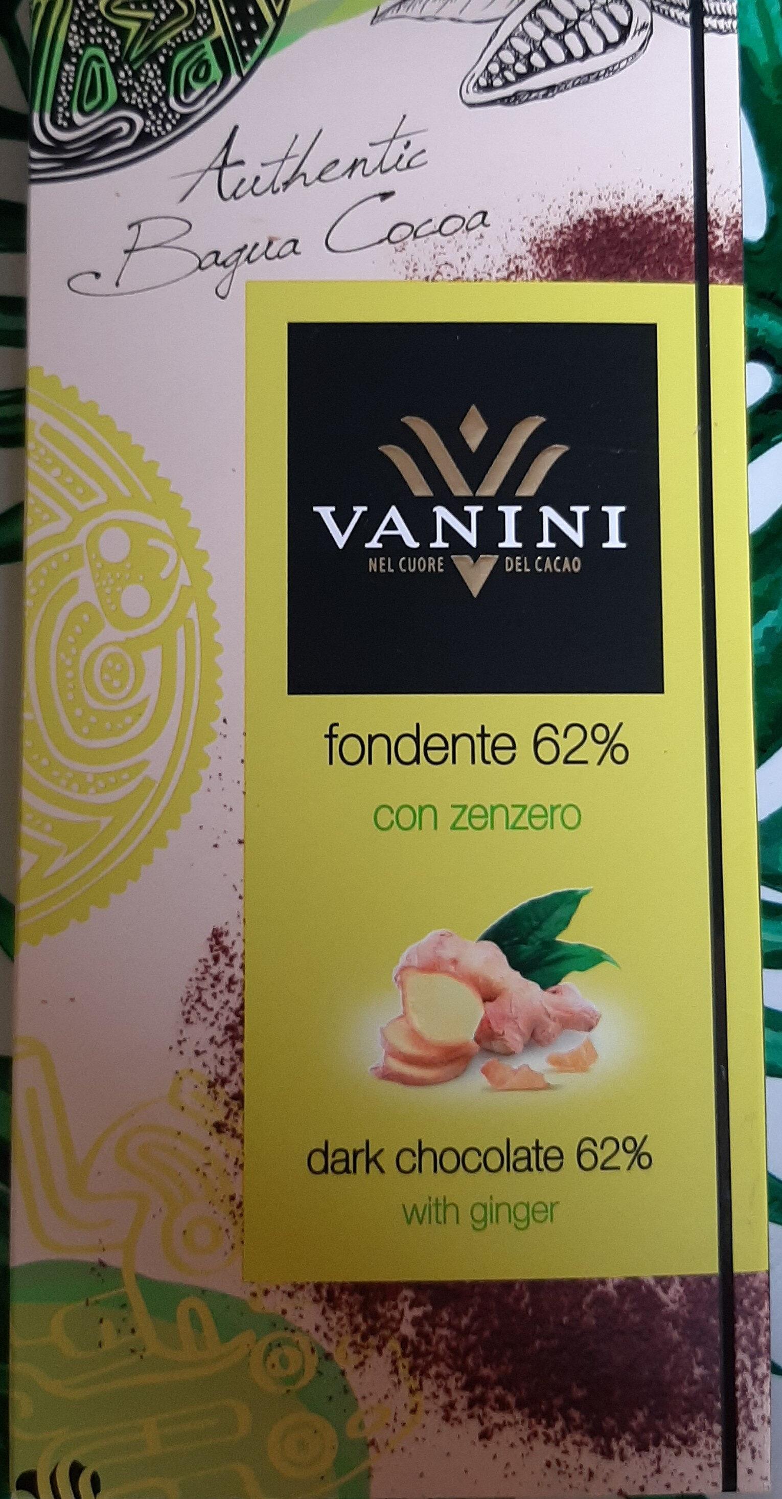 Cioccolato fondente con zenzero - Prodotto - it