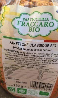 Panettone Pur Beurre - Produit - fr
