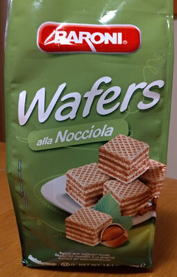 Wafers alla nocciola - Produit - it