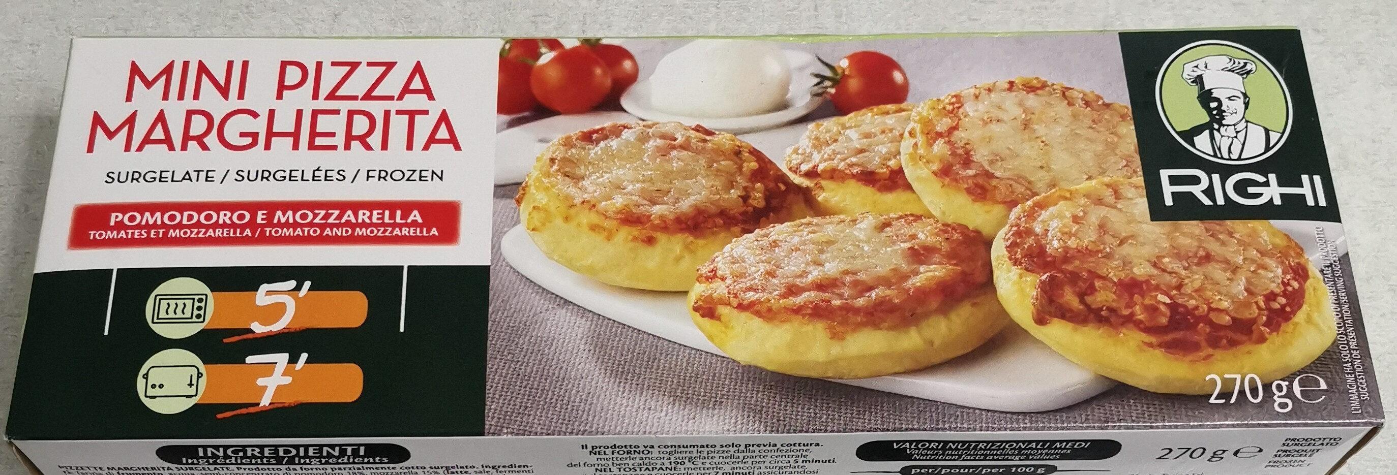 Mini pizza margharita - Produit - fr