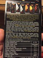 Chocolat noir écorces d'orange confites et amandes - Product - fr