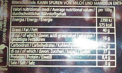 Nocciolato fondente - Informations nutritionnelles - it
