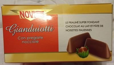 Gianduiotti con pregiate nocciole - Product - fr