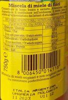 MIELE AMBROSOLI - Nutrition facts - it