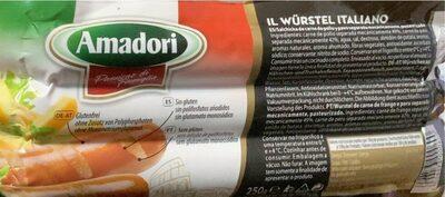 Il würstel italiano - Производ - sr