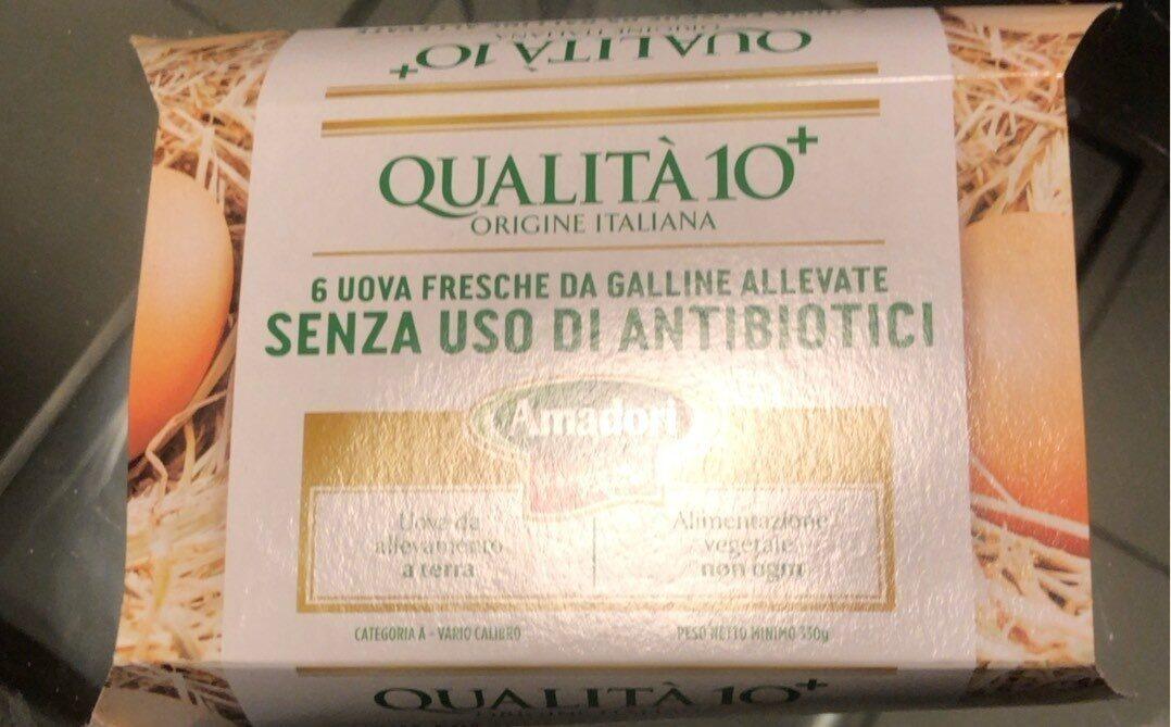 Uova fresche qualità 10 + - Prodotto - it