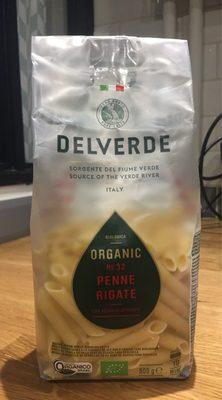 Bio Penne Rigate N. 32 500 GR. Delverde - Produit