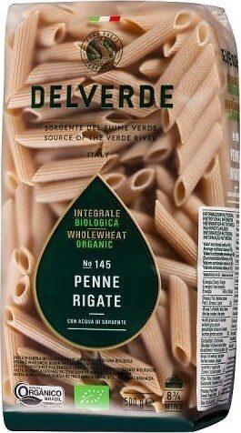 Wholewheat Organic No Penne Rigate - Produit - fr