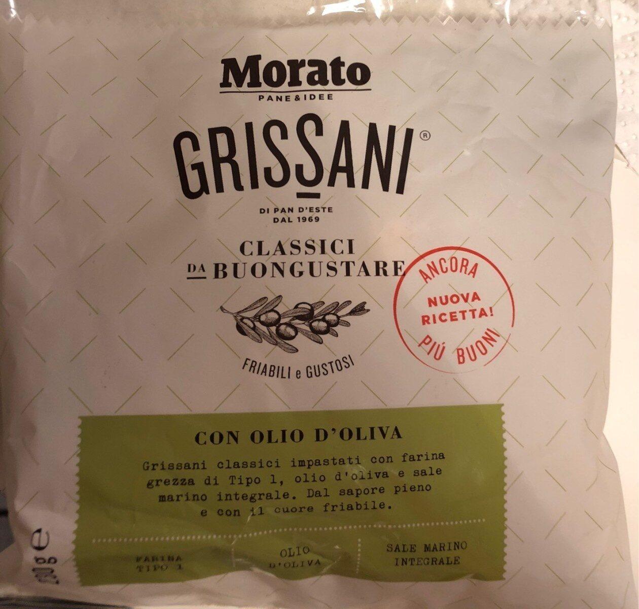 Grissani classici da buongustare con olio di oliva - Product - fr