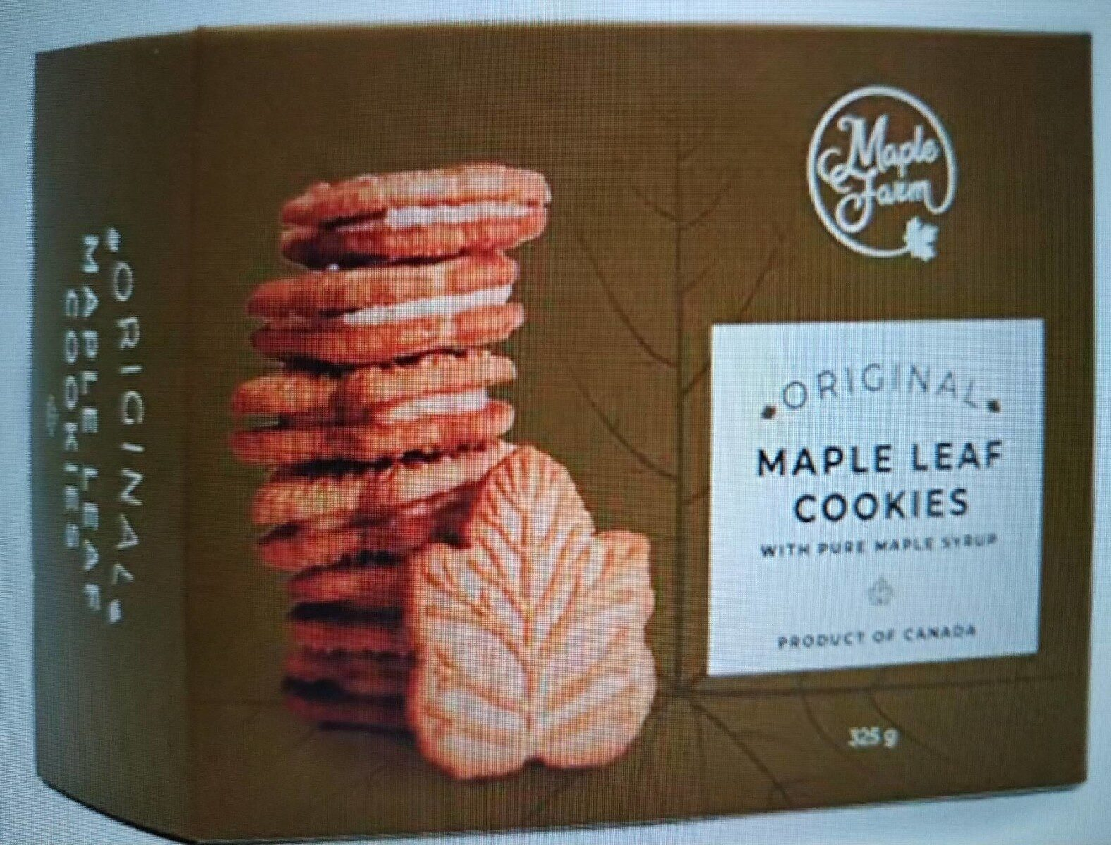 Maple Leaf Cookies - Prodotto - it