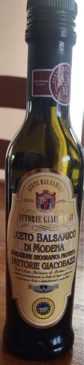 Aceto Balsamico di Modena - Prodotto - fr