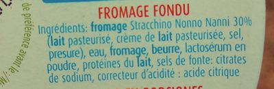 Formaggini Nonno Nanni - Ingrédients - fr