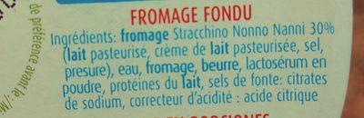 Formaggini Nonno Nanni - Ingrediënten - it
