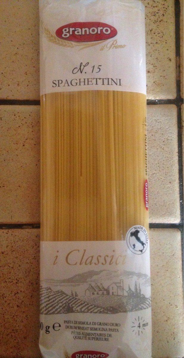 Spaghettini - Product