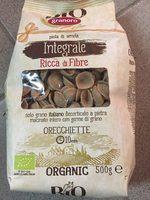 Orecchiette N°91 Biologique Intégrale - Produit