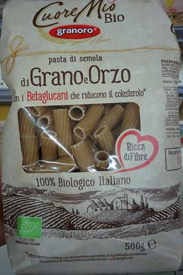 Pâtes de semoule de blé dur et orge - Prodotto - fr