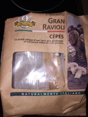 Gran Ravioli Cèpes - Producto