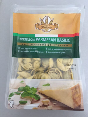 Tortelloni Parmigiano Basilico, Paquet De 250 Grammes, Marque Antica Pasteria - Product