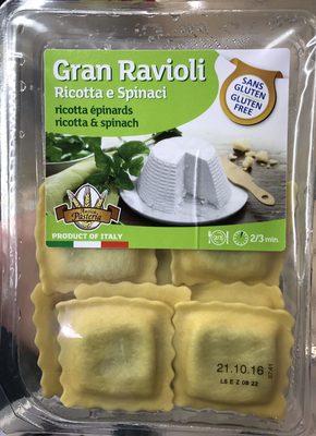 Ravioli ricotta e spinaci gluten free - Product - fr