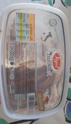Glace goût tiramisu - Produit - fr