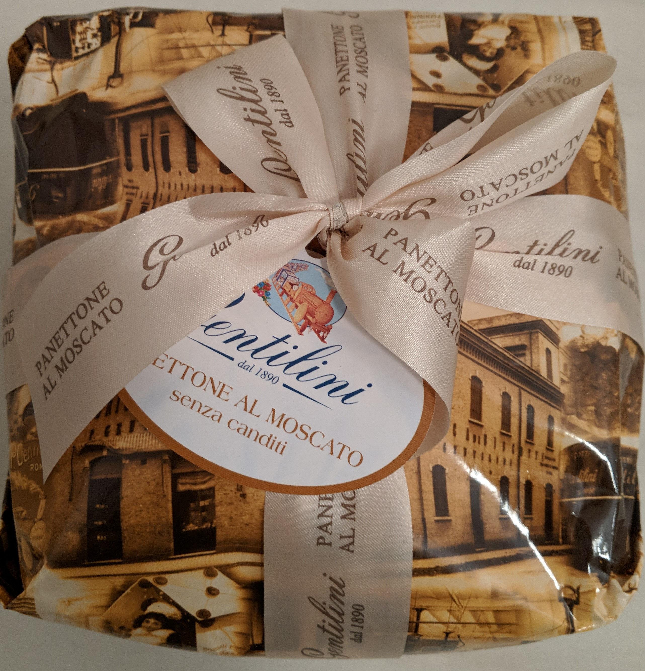 Panettone al Moscato senza canditi - Produit