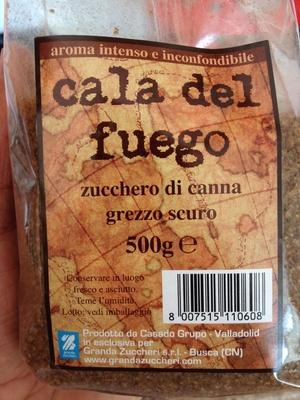 Cala del fuego Zucchero di canna grezzo scuro - Product