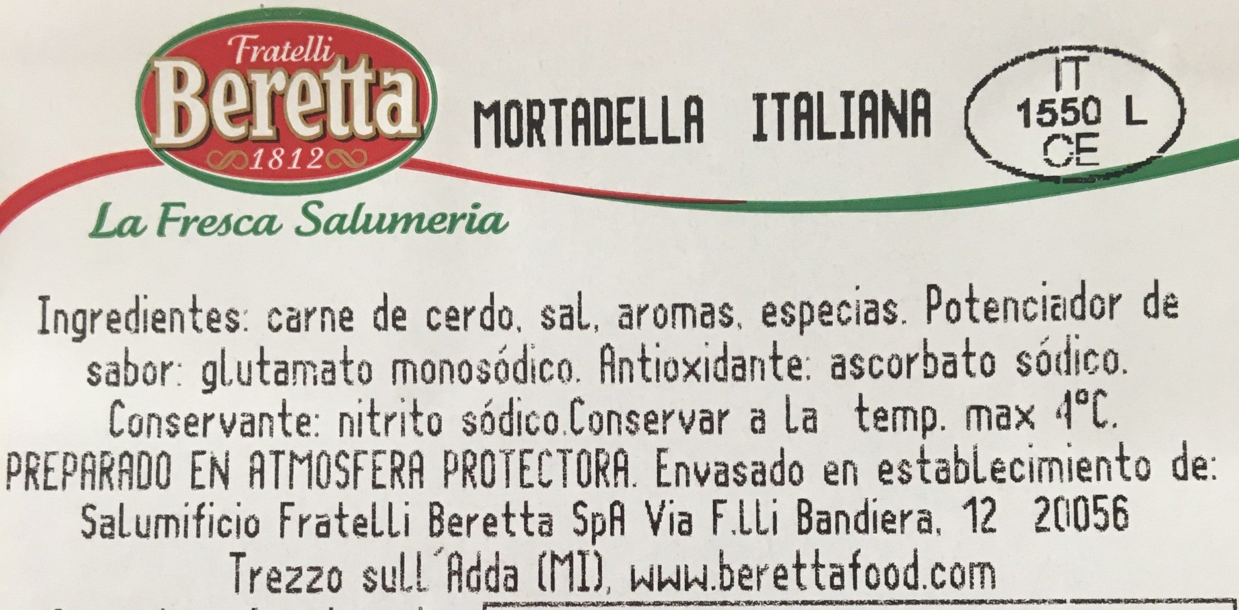 Mortadelle - Ingrediënten