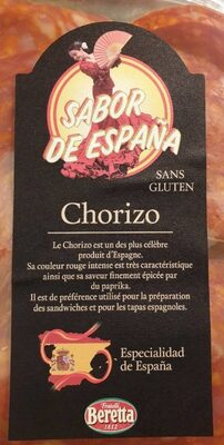 Chorizo - Produkt - fr