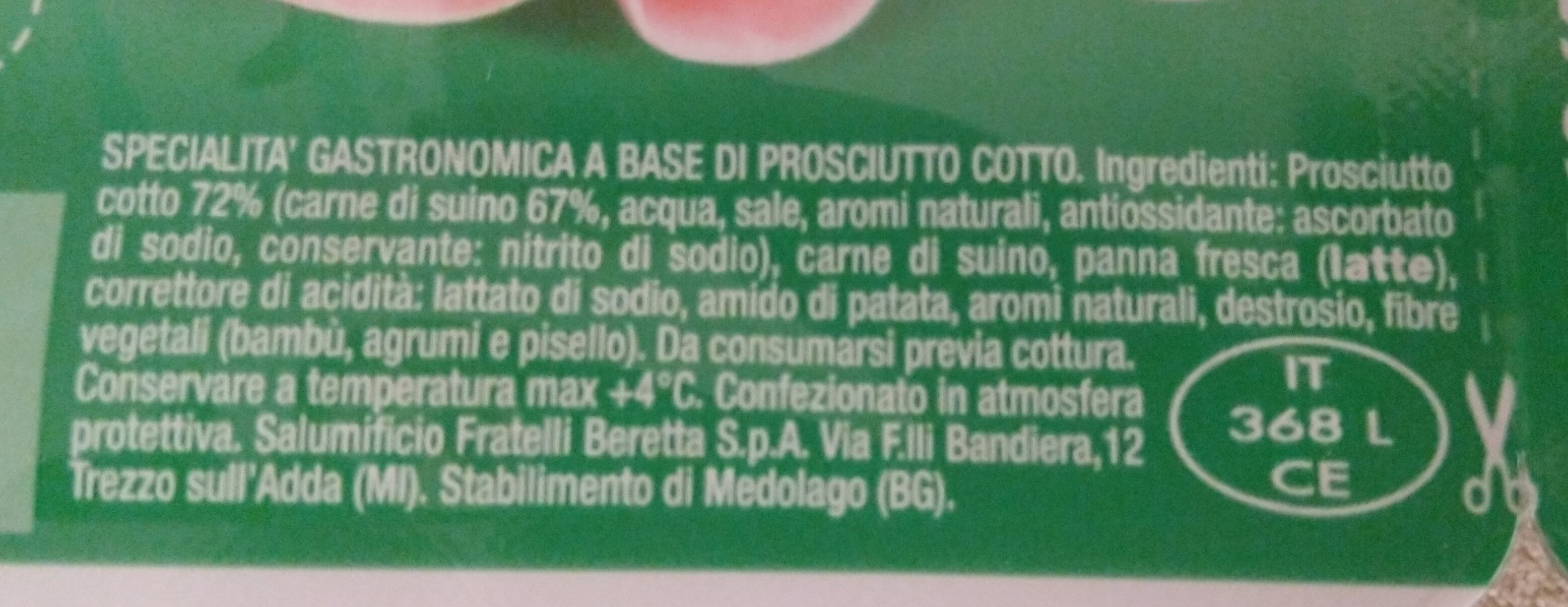 Paciocotti - Inhaltsstoffe - it