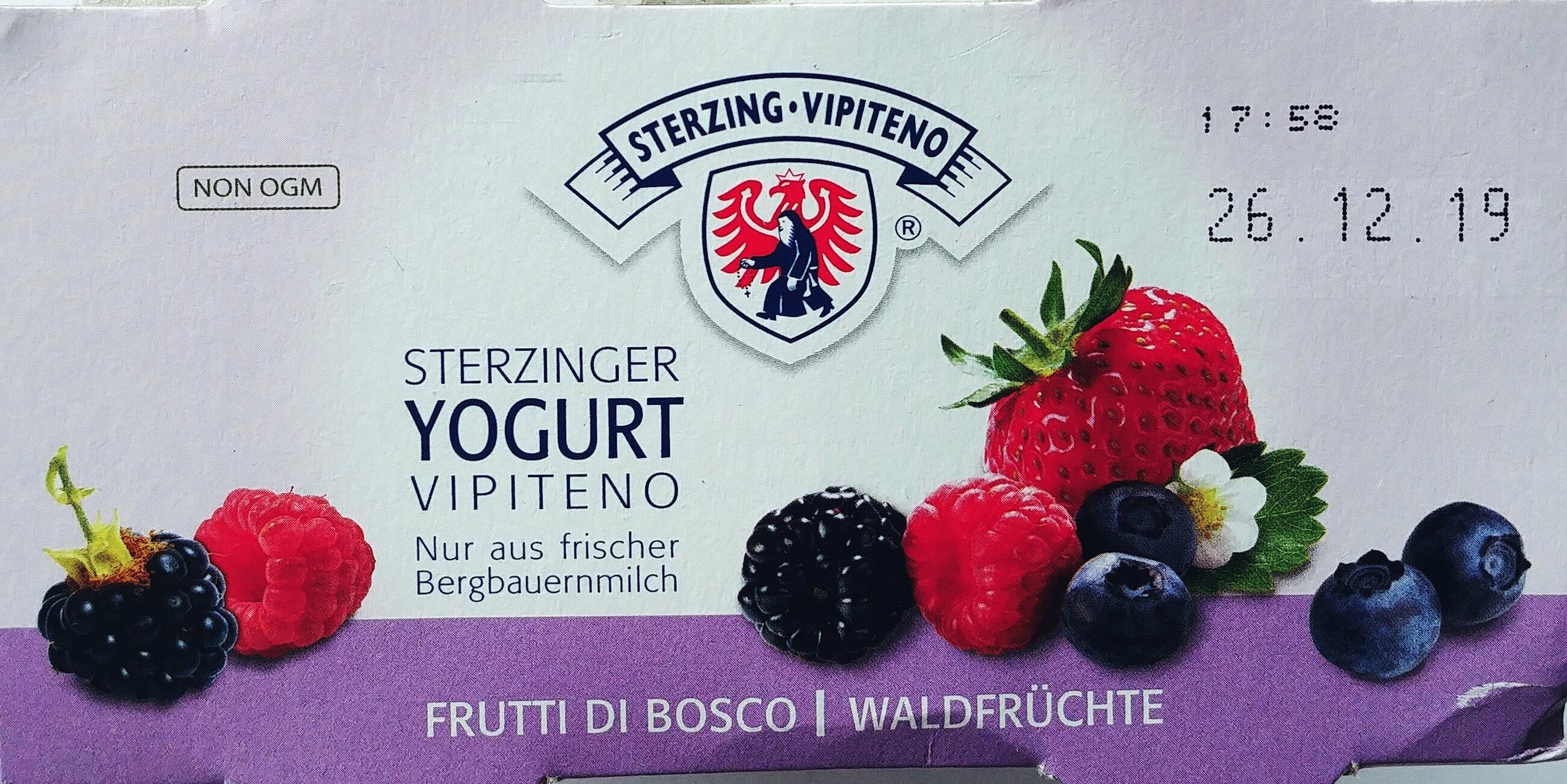 Yogurt ai frutti di bosco - Produit - fr