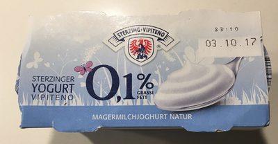 Yaourt Maigre 0,1% de Matière Grasse - Produit