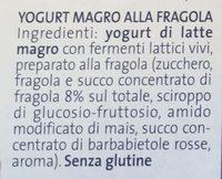 Yogurt fragola - Ingredients