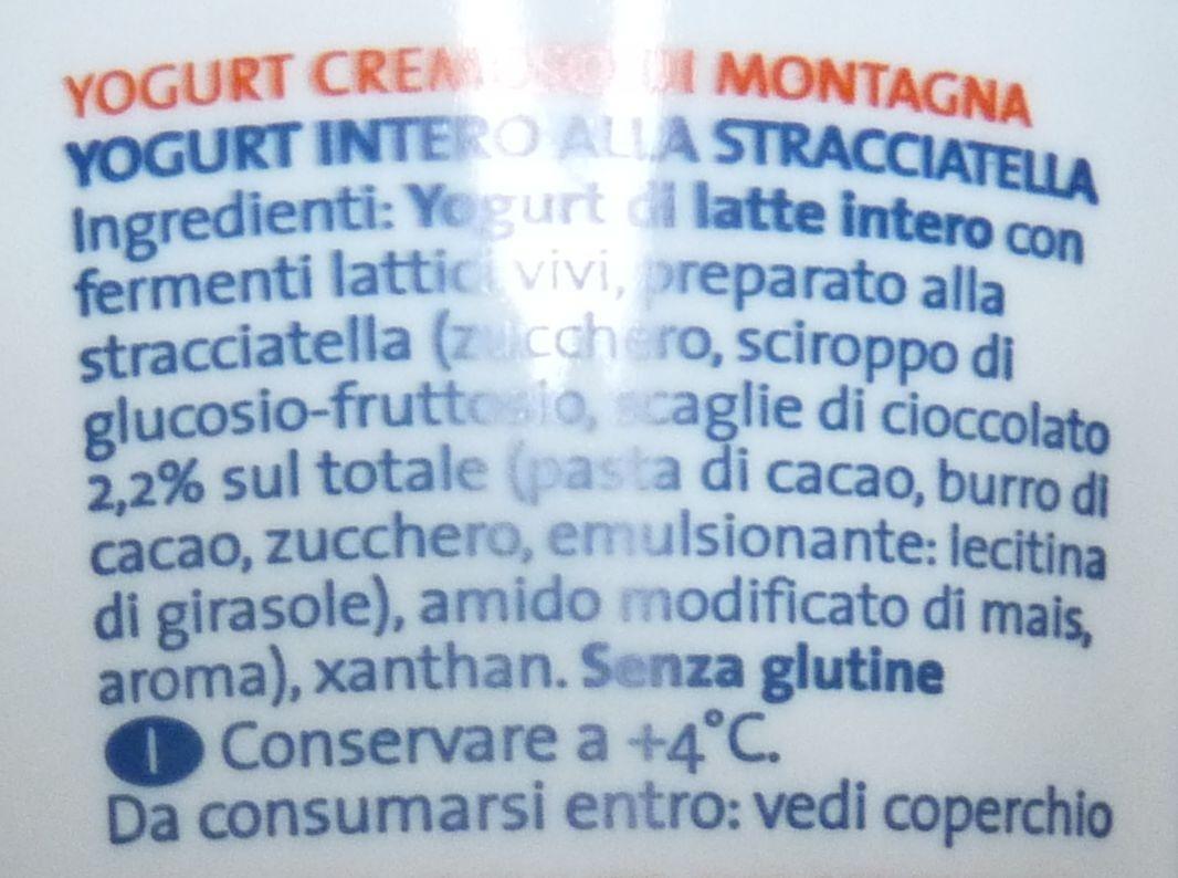 YOGURT Vipiteno Yogurt cremoso di montagna - Ingrediënten