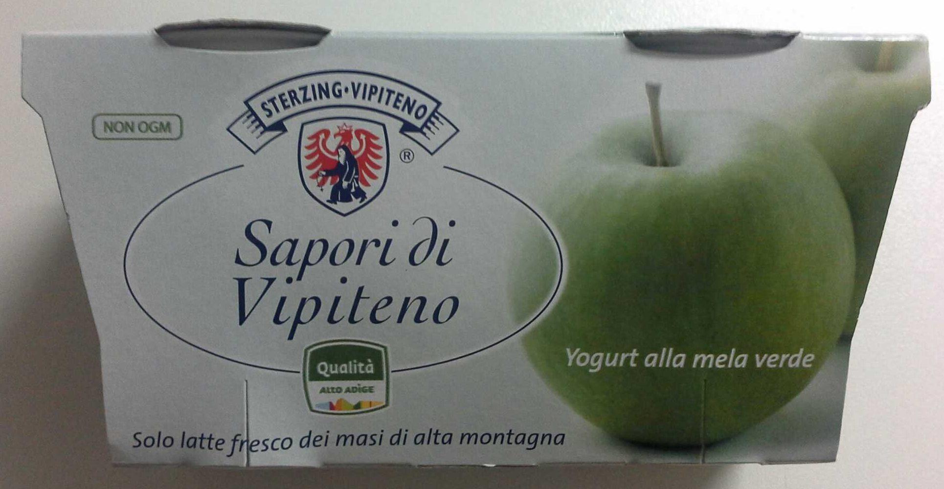 Yogurt alla mela verde - Product