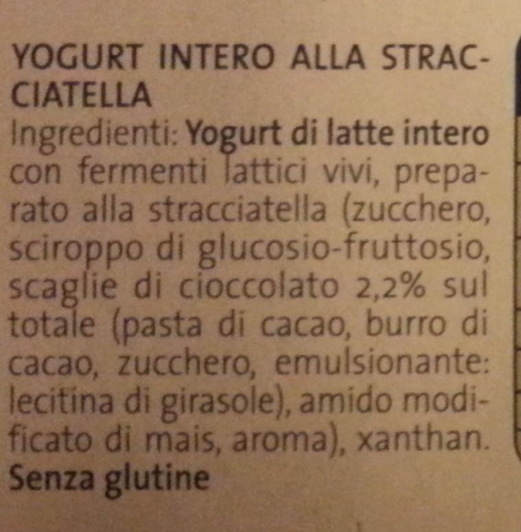 Yogurt Stracciatella - Ingredients - it