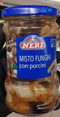 Misto funghi con porcini - Prodotto - it