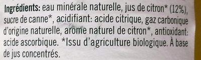 Citron de Sicile - Ingrédients - fr