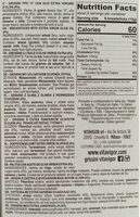 Grissini Nature Vita Vigor - Ingredients - fr