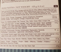 Grissini Nature Vita Vigor - Nutrition facts - fr