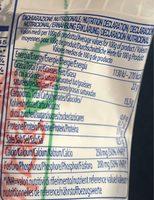Mozzarella di Bufala Campana AOP - 150 g - Fior di Napoli - Voedingswaarden - fr