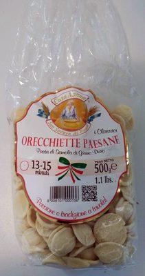 Orecchiette paesane - Produit