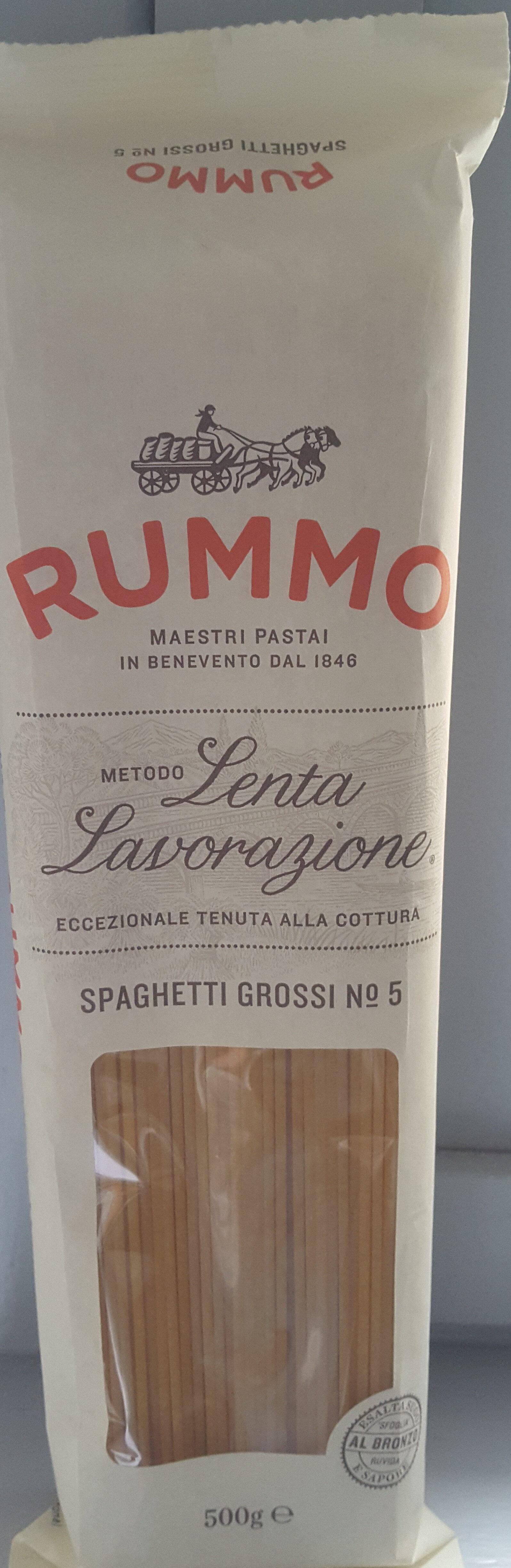 Lenta Lavorazione Grossi No 5 Spaghetti - Product - en