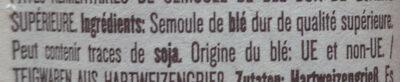 Linguine n°13 - Ingrediënten - it