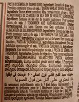 RUMMO PENNE RIGATE No 66 - Ingredienti - it
