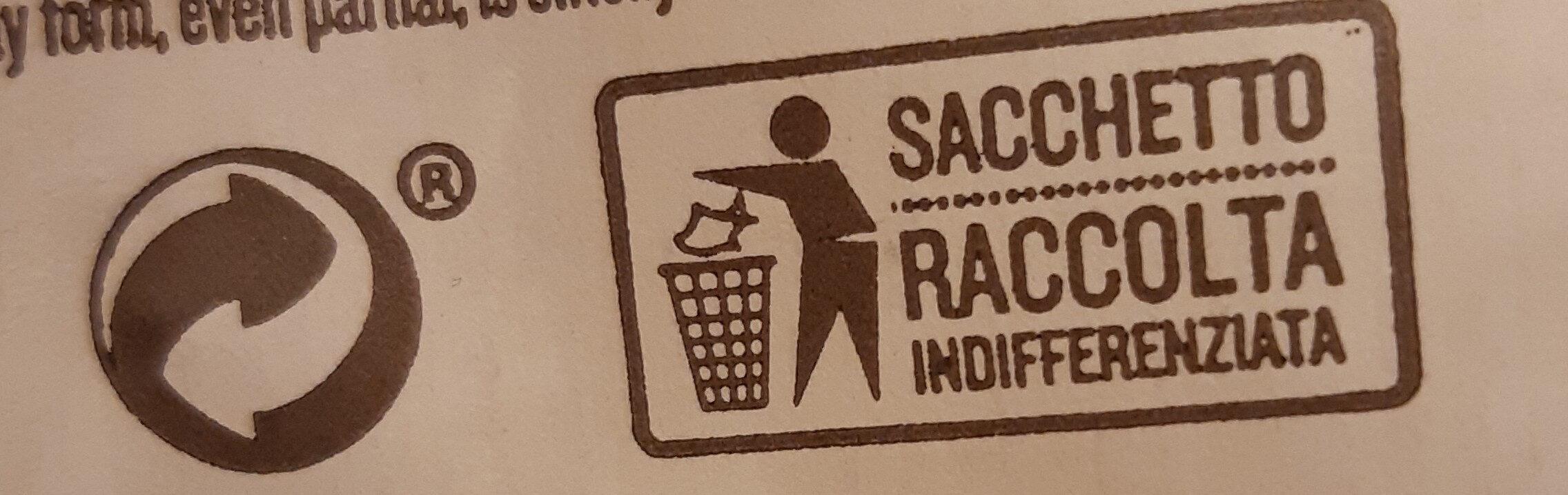 RUMMO PENNE RIGATE No 66 - Istruzioni per il riciclaggio e/o informazioni sull'imballaggio - it
