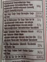 Orecchiette N°87 (Leggendari) - Voedingswaarden